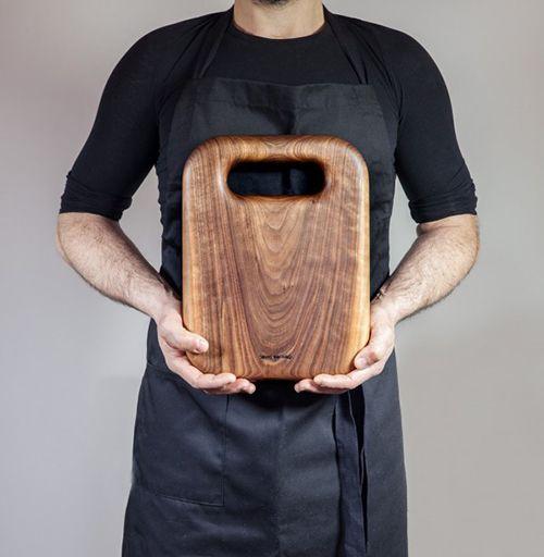 david santiago tabla madera utensilios cocina diseño artesanal