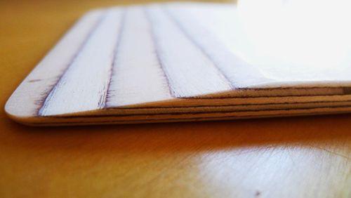 detalle cuña pala hornear diseño artesanal madera david santiago cantabria