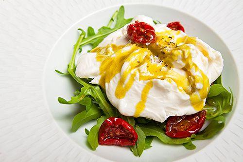 ensalada comida carta restaurante marieta madrid