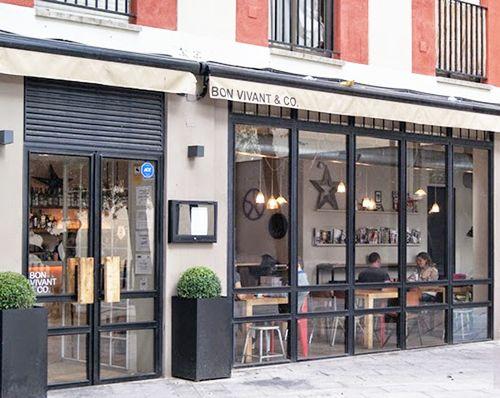 exterior bon vivant plaza san gregorio chueca madrid bistrot