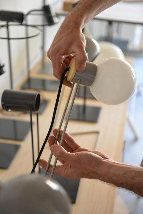 fernando abellanas diseñador artesano valencia lebrel lampara