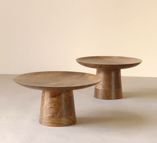 frutero madera nogal david santiago artesania diseño