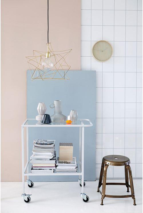 house doctor lampara cobre diseño nordico muebles decoracion dinamarca