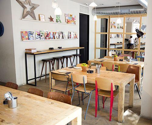 interior bon vivant bistrot cafeteria chueca madrid