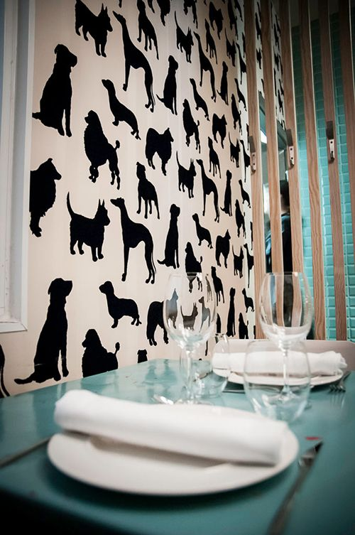 interior decoracion perrito faldero madrid restaurante fast good