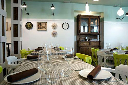 interior el apartamento restaurante madrid barrio de las letras