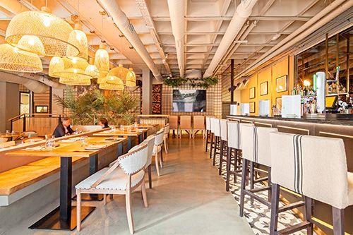 interior restaurante marieta madrid la castellana