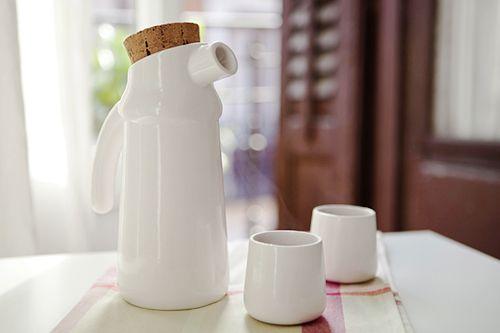 jarra vasos ceramica flux estudio diseño tanata madrid
