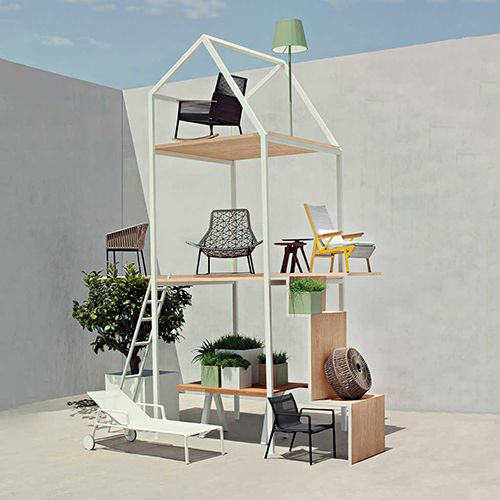 Kettal, impecable diseño de mobiliario exterior, sostenible e innovador