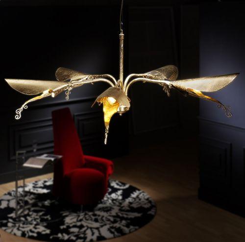 lampara lengua de mariposa more&more design estudio diseño mobiliario decoracion