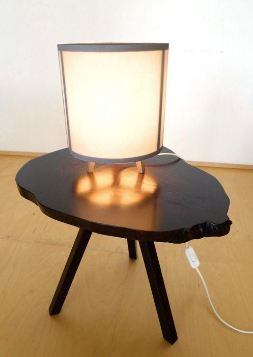 lampara mesa madera david santiago