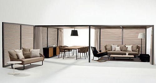 pabellones kettal diseño muebles exterior