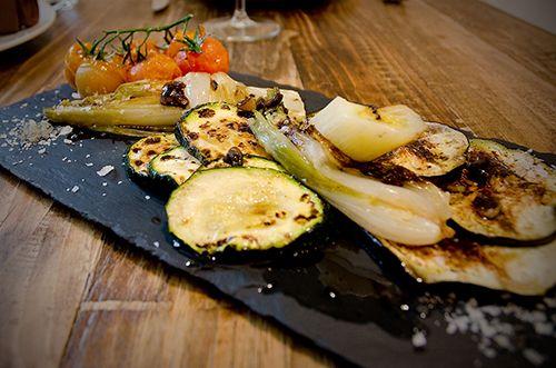 parrilla verduras comida tradicional el apartamento restaurante madrid