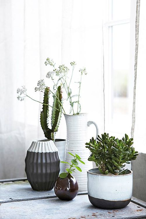 plantas macetas ceramica decoracion house doctor diseño nordico