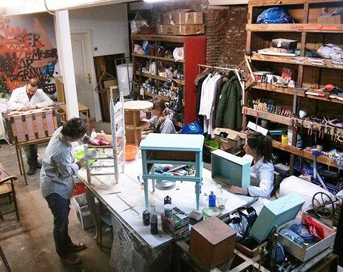 restauracion estudio taller erre emme madrid