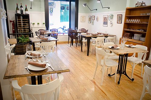 restaurante salon el apartamento madrid barrio de las letras