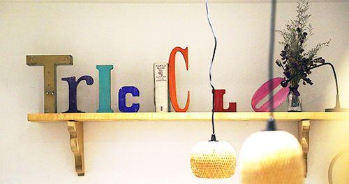 triciclo letras restaurante madrid barrio de las letras
