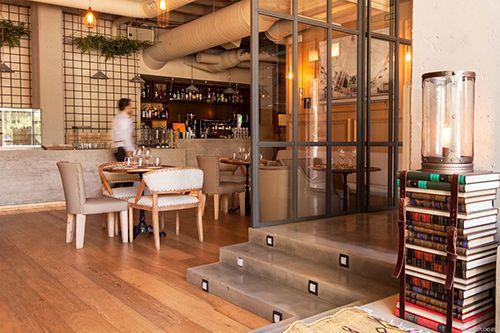 zona barra espacio restaurante marieta madrid