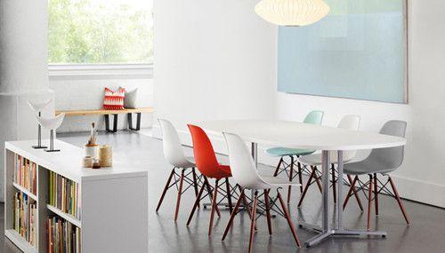 años 50 sillas Eames
