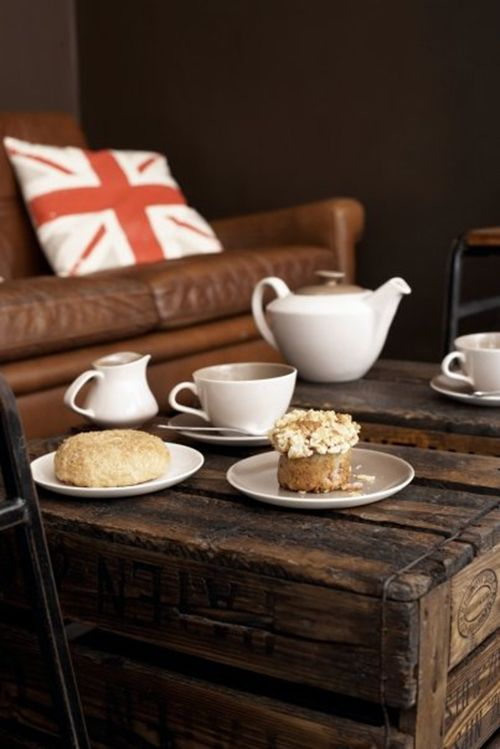 cafeteria ginger&white londres sofa cojin muffin