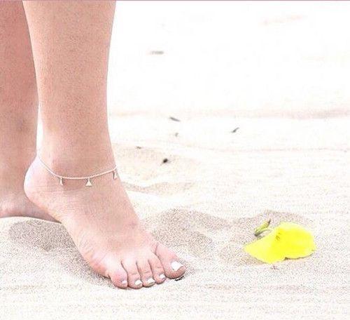 creme jewels tobillera playa