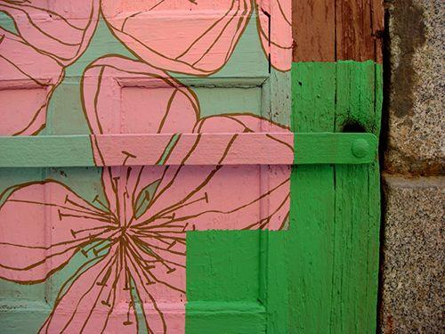 detalle mural callejero arte urbano nuria mora