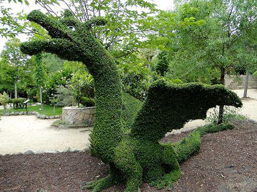 dragon el bosque encantado madrid jardin museo botanico