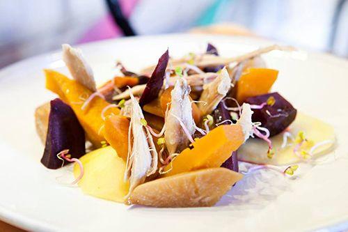 escabeche pollo sano ecologico restaurante mama campo madrid