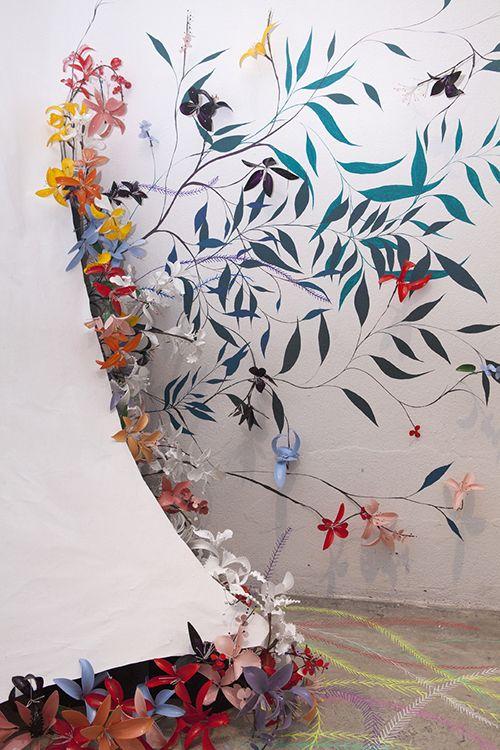 escultura origami artista nuria mora