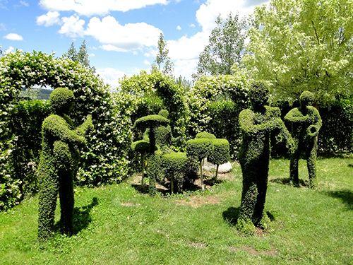 grupo musica esculturas vegetales jardin botanico el bosque encantado madrid