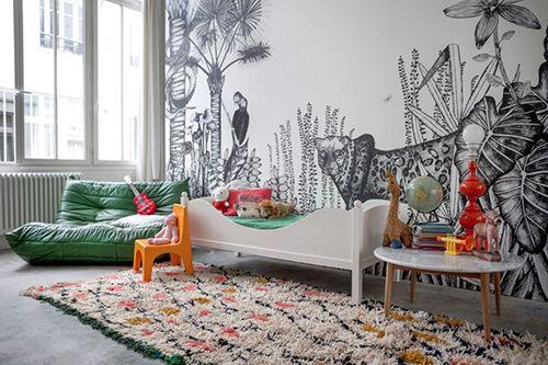 habitacion niños ideas decoracion tematica