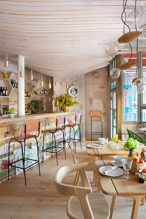 interior decoracion mama campo madrid restaurante ecologico colmado