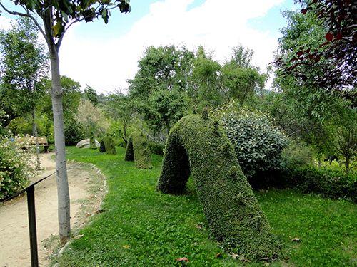 madrid el bosque encantado parque museo botanico esculturas vegetales