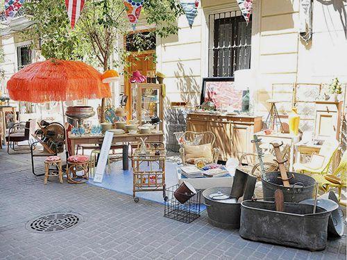 mercadillo-decoraccion popup barrio de las letras