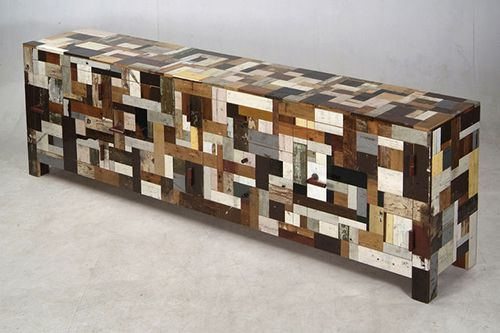 mueble madera diseño sostenible eco piet hein eek
