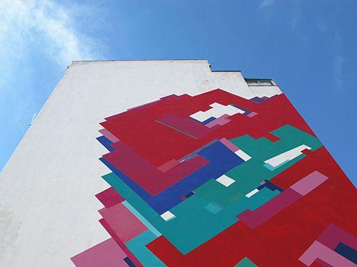 mural arte urbano artista nuria mora