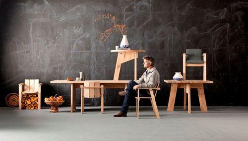 piet hein eek diseño sostenible eco diseñador muebles holandes