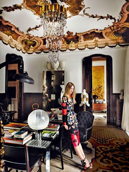 Reportaje de Mario Testino para US Vogue en el estudio de Lázaro Rosa-Violán