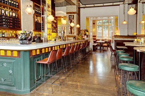 Restaurante de la cadena Ibérica en Londres