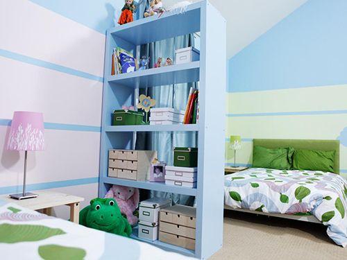 separar espacios habitaciones niños decoracion infantil