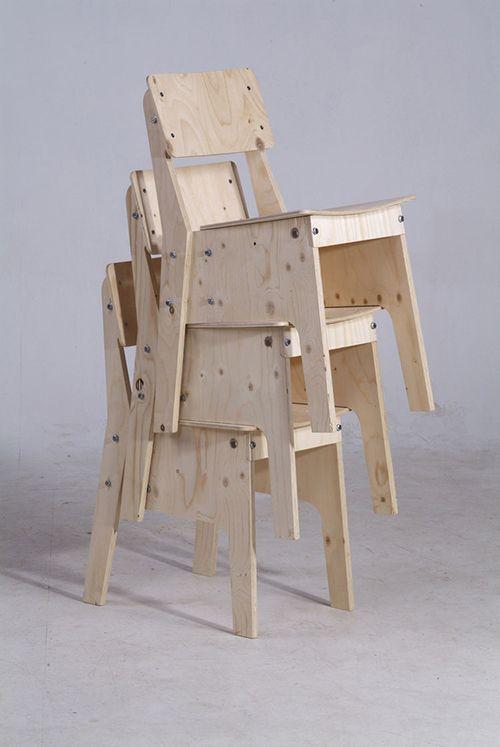 silla diseño sostenible eco piet hein eek