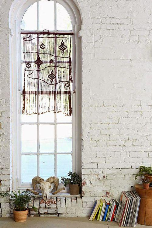 tapices macrame cortina decoracion bohemia