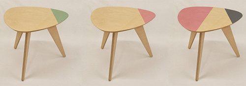 the nude design mesa auxiliar personalizada