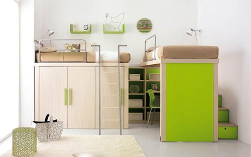 tumidei decoracion infantil ideas habitaciones niños poco espacio