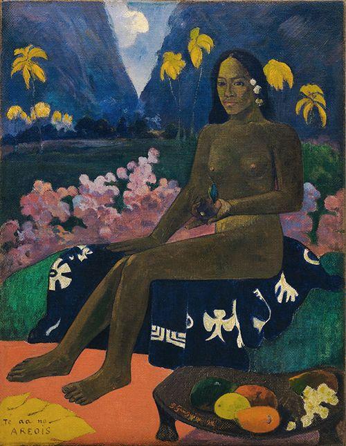 """Te aa no areois"", Paul Gauguin (1892)"