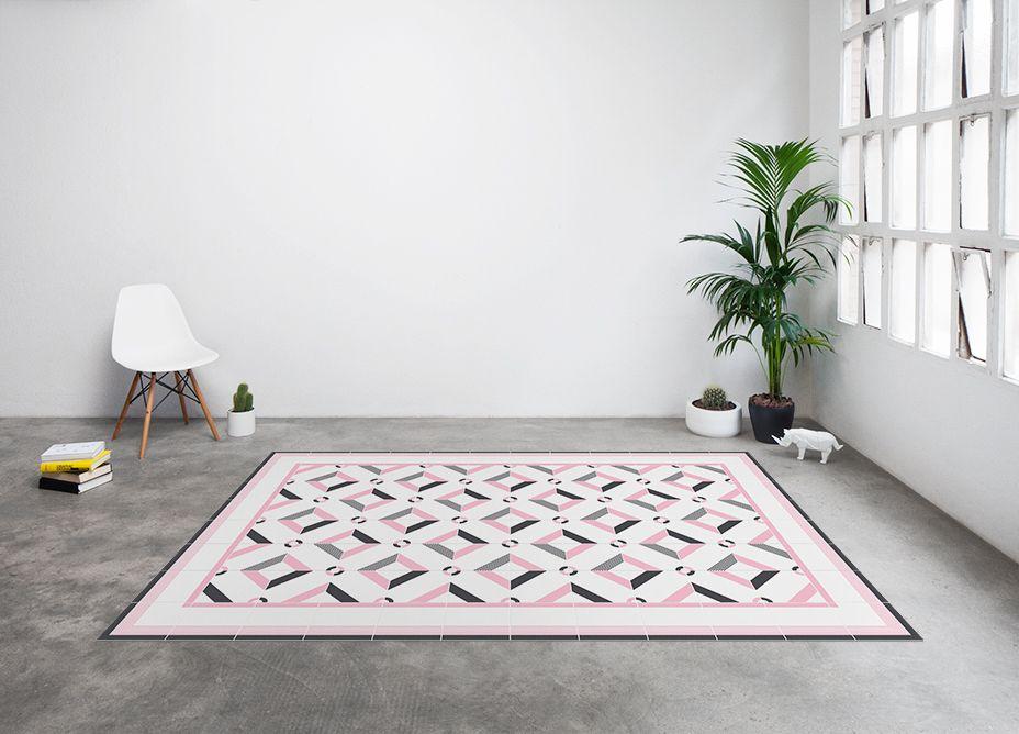 alfombras inspiradas en suelos hidr ulicos vintage moove