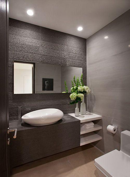 baño equipamiento decoracion moderna