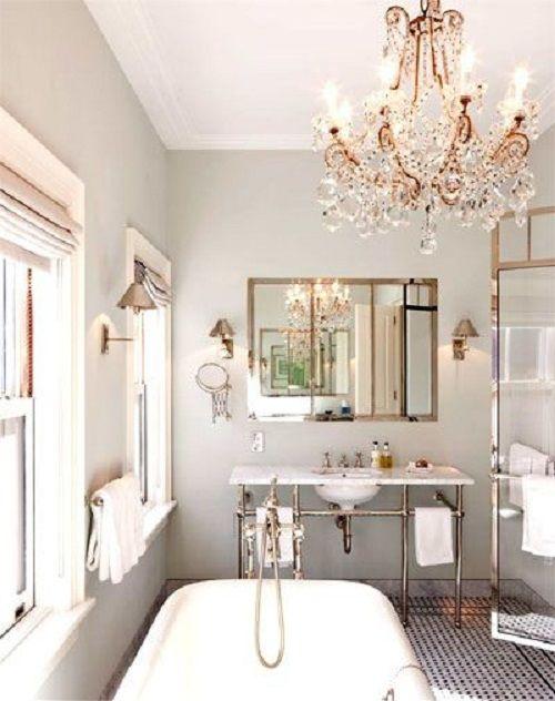 baño estilo victoriano