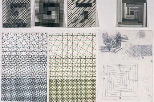 bocetos enzo mari diseño producto azulejos gabbianelli