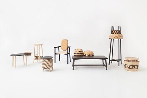 coleccion tokyo tribal diseño mobiliario oki sato nendo